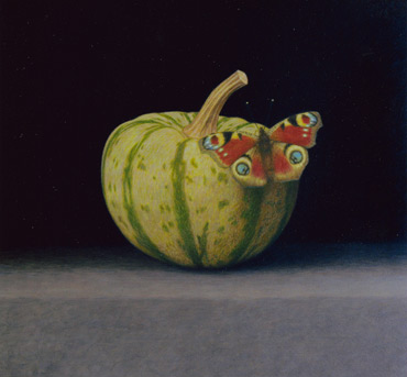 Thumbnail image of Gourd with a Peacock by Dylan Waldron