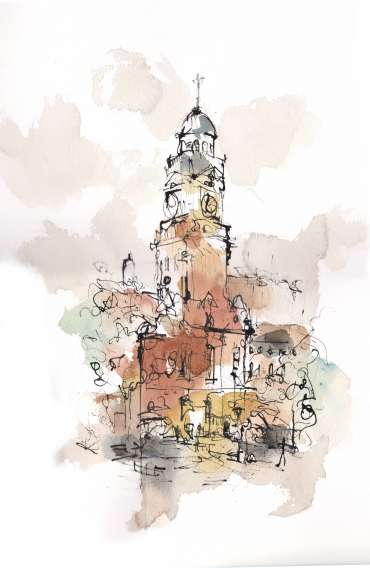 Thumbnail image of Town Hall, Leicester by Emma Fitzpatrick