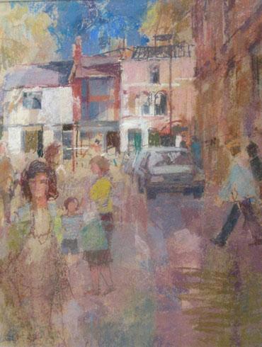 King Street Shops by Geoffrey Lee
