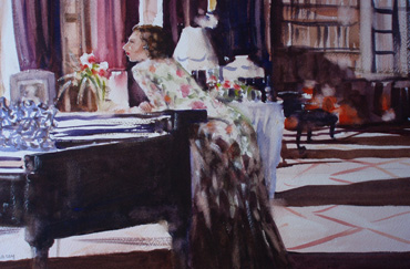 Thumbnail image of The Music Room by Graham Lacey