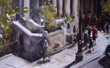 Thumbnail image of Sunlit Sidewalk by Graham Lacey
