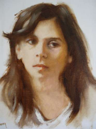 Study of Girl by Graham Lacey