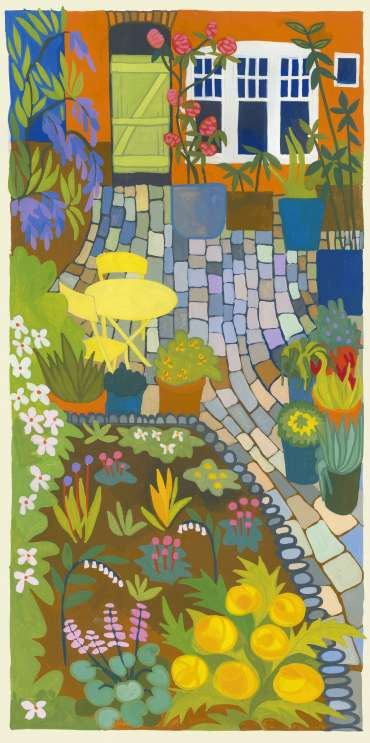 Thumbnail image of Cobbles and Plants by Helen Newton
