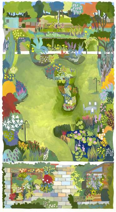 Our Back Garden by Helen Newton