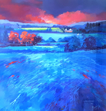 Thumbnail image of Vibrant Blue by Irene Peutrill