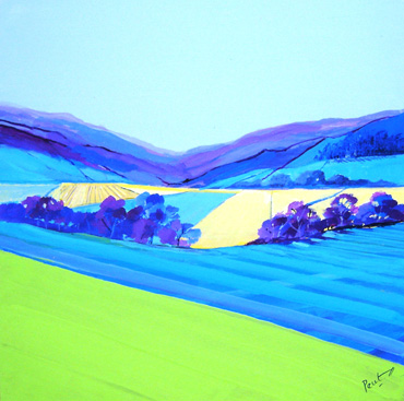 Thumbnail image of Patchwork of Fields 2 by Irene Peutrill