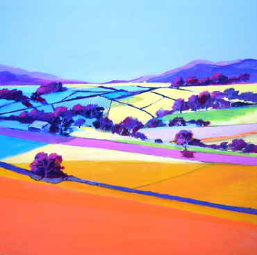 Thumbnail image of Patchwork of Fields 1 by Irene Peutrill