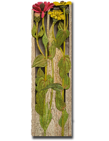Thumbnail image of Zinnias by Jenny Cook