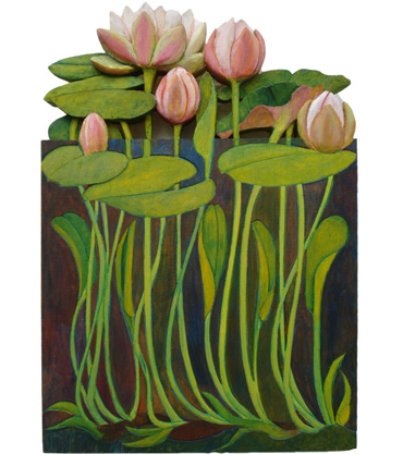 Thumbnail image of Waterlilies by Jenny Cook