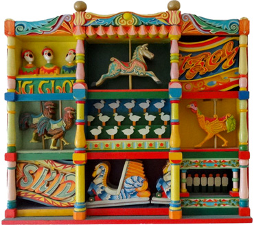 Thumbnail image of Fairground, 1988 by Jenny Cook