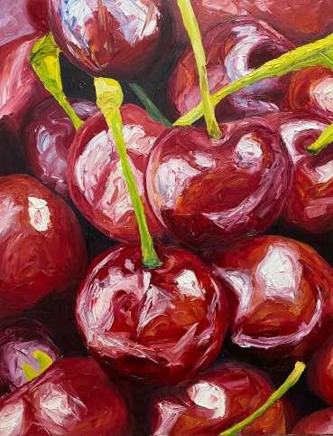 Thumbnail image of Cherries by Joe Giampalma