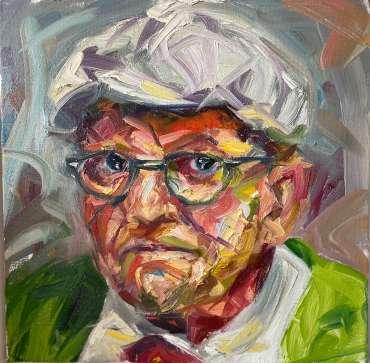 Thumbnail image of David Hockney by Joe Giampalma