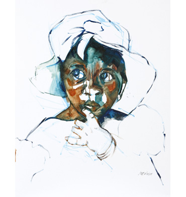 Thumbnail image of Undecided, Gambian Child by Judy Merriman