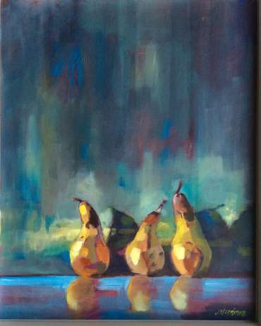 Thumbnail image of Three Pears by Judy Merriman