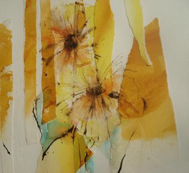 Impression Sunflower by Katie MacDowel