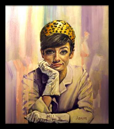 Thumbnail image of Audrey in Gloves by Kelvin Adams