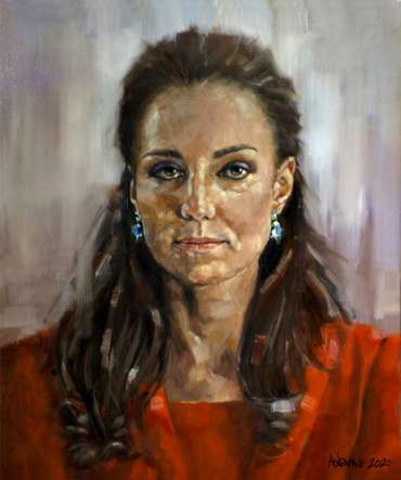 Thumbnail image of The Duchess of Cambridge by Kelvin Adams