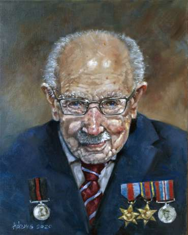 Colonel Sir Tom Moore - An Inspirational Warrior by Kelvin Adams