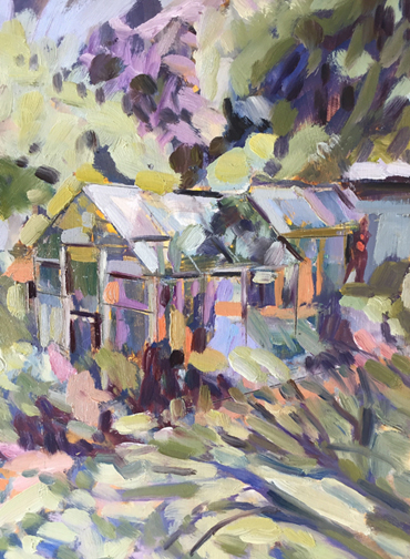 Thumbnail image of Greenhouses by Lesley Brooks