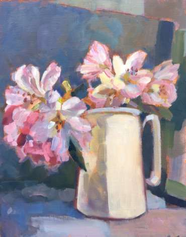 Thumbnail image of Rhododendons - Single Floret Study by Lesley Brooks