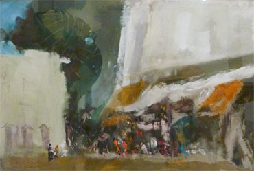 Thumbnail image of Cairo Bazaar by Leslie A Goodwin