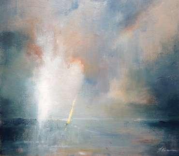 Yellow Sail by Linda Sharman