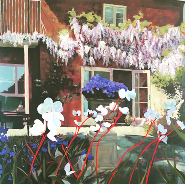 Thumbnail image of Hotstepper with Wisteria by Lisa Timmerman