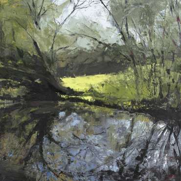 Trees but No Swans (no.8) by Lisa Timmerman