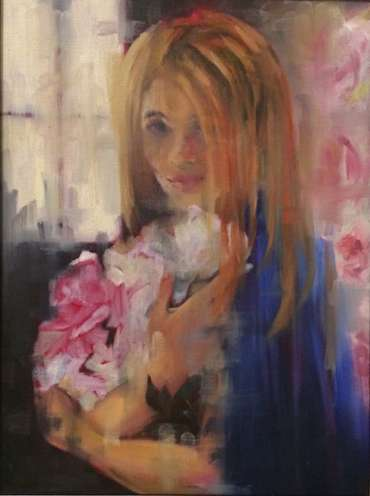 Thumbnail image of Tequilla with Peonies by Lisa Timmerman