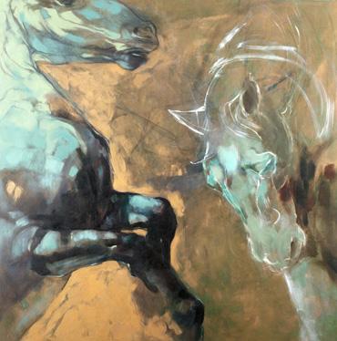 Kelpies by Louise Ellerington