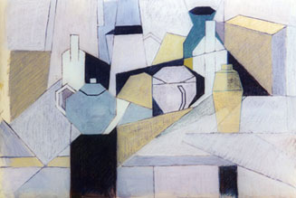 Geometric Still Life by Michael Haswell