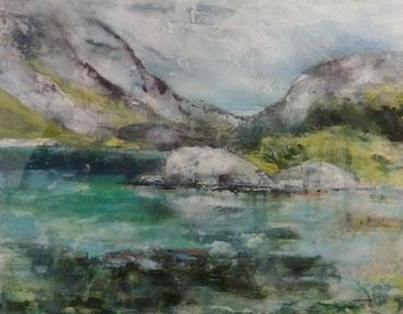 Summer In Lotofen by Pauline Gamble