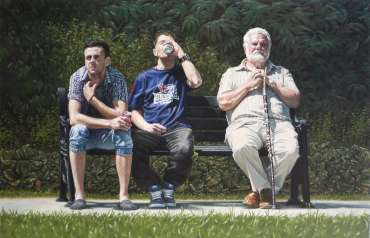 Thumbnail image of Tom, Dick & Harry - 2012 by Pete Underhill