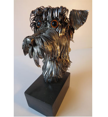 Thumbnail image of Dog Belcher by Peter Carter