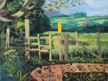 Thumbnail image of Stile near Tilton by Peter Clayton
