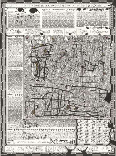 The Fictional Museum of Drawing Floor Plan #3 by Phil Sawdon