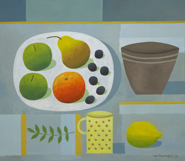 Thumbnail image of Grey Still Life with Fruit by Reg Cartwright