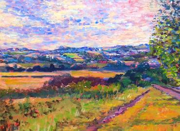 Thumbnail image of Hathern Road to Shepshed by Rita Sadler