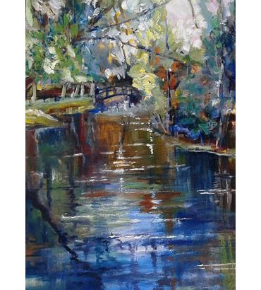 Thumbnail image of Shepshed Mill pond by Rita Sadler