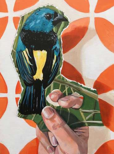 Bird in the Hand IV by Ro Williams