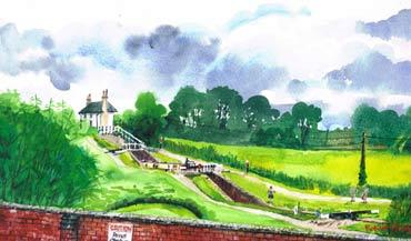 Thumbnail image of Foxton Locks by Robert Hewson