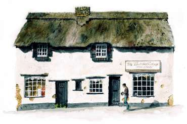 Thumbnail image of The Thatched Cottage, Higham Ferrers by Robert Hewson