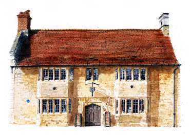 Thumbnail image of The Old House, Higham Ferrers by Robert Hewson