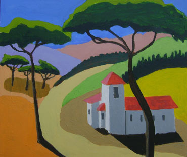 Thumbnail image of Tuscan Church by Roger Whiteway
