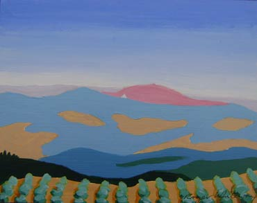 Thumbnail image of Umbrian Landscape by Roger Whiteway
