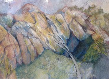 Thumbnail image of Rocks and Caves by Ruth Cockayne