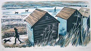 Evening Walks by Sally Hill