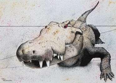 Thumbnail image of Crocodile Smile by Sally Struszkowski
