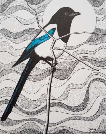 Thumbnail image of Magpie by Sally Struszkowski