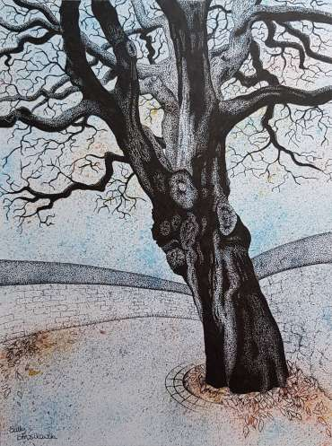 Winter Approaches by Sally Struszkowski